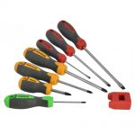 Faithfull Set of 7 Screwdrivers and Magnetiser