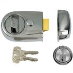 Yale Y3 Nightlatch Modern Polished Chrome Finish 60mm Backset Visi Pack