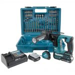 Makita HR166DSAE1 10.8v CXT Brushless SDS-Plus Rotary Hammer 2.0Ah Kit